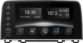 Акция на Автомагнитола штатная Gazer CM6509-RW для Honda CRV 2017+ от Rozetka