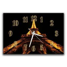 Акция на Настенные часы в офис Aim Эйфелева башня, 30х45 см от Allo UA
