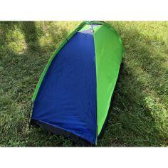 Акция на Палатка Camping Tent 21M YB-3024-A Сине-зеленая 20х11х10 от Allo UA