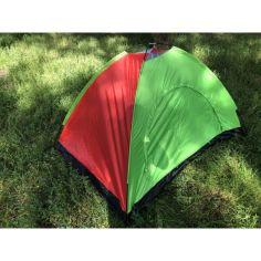 Акция на Палатка Camping Tent 21.5M YB-3025-B 20х15х11 Красно-зеленая от Allo UA