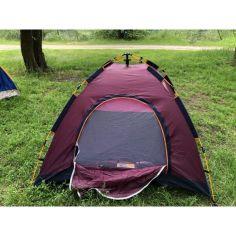 Акция на Палатка автоматическая для туризма 2х2 Tent auto Best 2 (бордо) от Allo UA