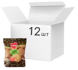 Акция на Упаковка печенья Toniya Фирменное овсяное 300 г х 12 шт (000009525) от Rozetka