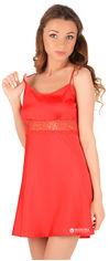 Ночная рубашка Martelle Lingerie M-101 шелк 42 (XL) Красная (MAR101089S) от Rozetka