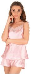 Акция на Пижама Martelle Lingerie M-301 атлас 34 (XS) Розовая (MAR301036A) от Rozetka