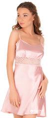 Акция на Ночная рубашка Martelle Lingerie M-101 атлас 38 (M) Розовая (MAR101057A) от Rozetka