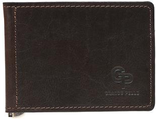 Кожаный зажим для купюр Grande Pelle VN-GP-103620 Коричневый (ROZ6206113785) от Rozetka
