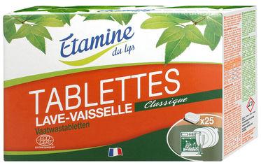 Таблетки для посудомоечной машины Etamine du Lys 25 шт (3538395207102) от Rozetka