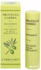 Акция на Защитный бальзам для губ Lerbolario с оливковым маслом и маслом чайного дерева 4.5 мл (8022328101414) от Rozetka