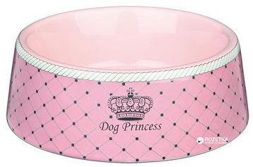 Миска керамическая Trixie Dog Princess 450 мл Розовая 24582 (4047974245828) от Rozetka