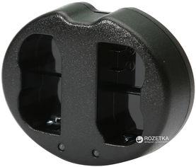 Зарядное устройство PowerPlant Dual для двух аккумуляторов Canon LP-E6 (DV00DV3924) от Rozetka