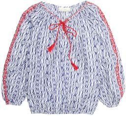 Блузка H&M 3hm06100036 34 Голубая (SHEK2000000287058) от Rozetka