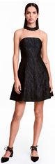 Платье H&M 3hm05330015 38 Черное (SHEK2000000284798) от Rozetka