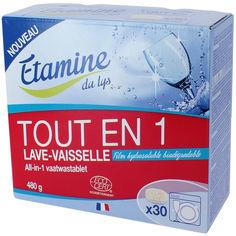 Таблетки для посудомоечной машины Etamine du Lys All in 1 30 шт (3538395207300) от Rozetka