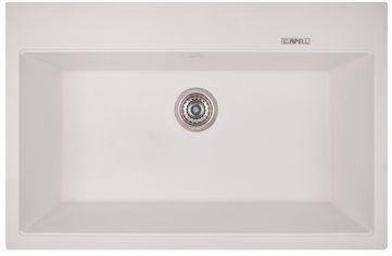 Акция на Кухонная мойка APELL Pietra Plus 780x510 PTPL780GW от Rozetka