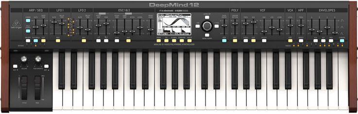 Акция на Аналоговый синтезатор Behringer DeepMind 12 (BE-0835) от Rozetka