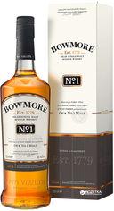 Акция на Виски Bowmore №1 0.7 л 40% (5010496004494) от Rozetka