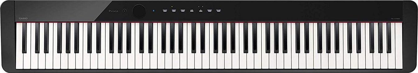 Акция на Цифровое пианино Casio Privia PX-S1000 Black (PX-S1000BK) от Rozetka