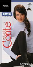 Акция на Колготки Conte из хлопка Cotton 400 Den 5 р Nero -4811473020411 от Rozetka