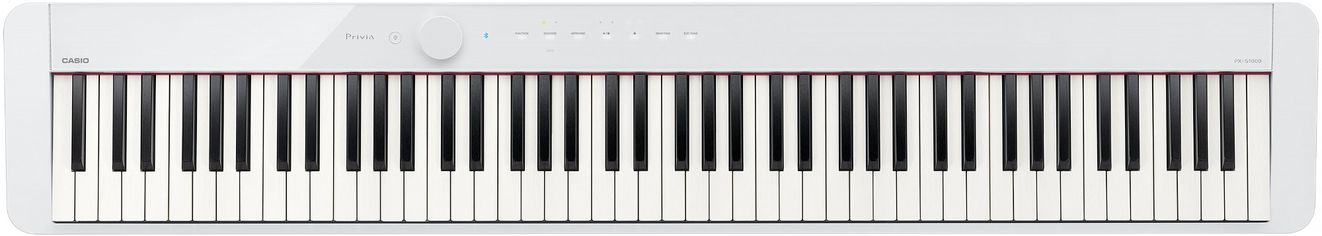 Цифровое пианино Casio Privia PX-S1000 White (PX-S1000WE) от Rozetka