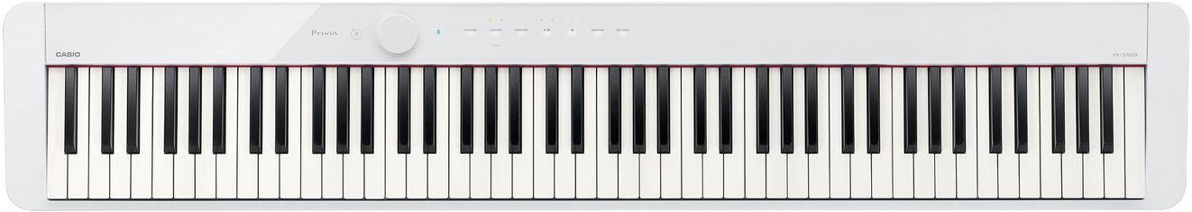 Акция на Цифровое пианино Casio Privia PX-S1000 White (PX-S1000WE) от Rozetka