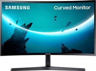 """Акция на Mонитор 23.5"""" Samsung Curved C24F396F (LC24F396FHIXCI) - HDMI-кабель в комплекте от Rozetka"""