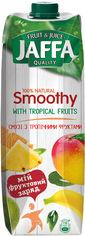 Упаковка смузи Jaffa с тропическими фруктами 950 мл х 12 шт (4820192261319_4820192261333) от Rozetka