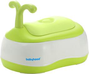 Горшок 3 в 1 Babyhood BH-101 White-Green (BH-101G) от Rozetka
