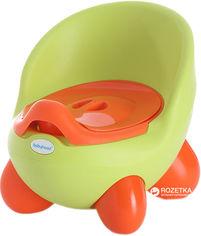 Горшок на ножках Babyhood BH-105 Green-Orange (BH-105G) от Rozetka