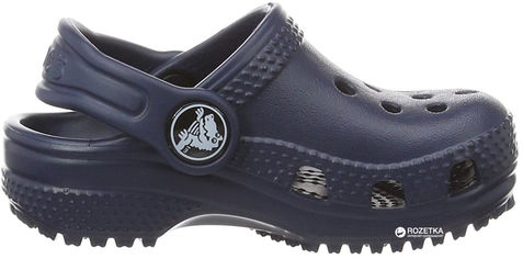 Сабо Crocs Kids Jibbitz Classic Clog K 204536-410-J1 32-33 20 см Синие (887350922882) от Rozetka