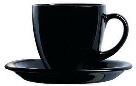 Акция на Сервиз для чая Luminarc Carine Black 12 предметов (P4672) от Rozetka