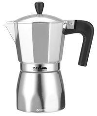 Акция на Гейзерная кофеварка Maxmark 450 мл (MK-AL109) от Rozetka