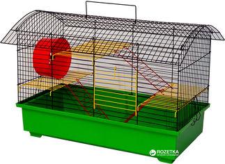 Акция на Клетка для грызунов Лорі Биг Вагон 40.5 х 61 х 39.5 см Зеленая (4823094302371) от Rozetka