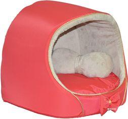 Акция на Домик для собак и кошек Лорі №0 VIP 30.5х27х27 см Красный М045-кр (4823094303545) от Rozetka