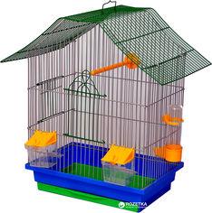 Клетка для птиц Лорі Шанхай 40 х 33 х 23 см Синяя (4820033202235) от Rozetka