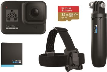 Видеокамера GoPro HERO 8 Black Special Bundle от Rozetka
