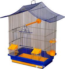 Клетка для птиц Лорі Мини-3 47 х 33 х 23 см Синяя (4823094302579) от Rozetka