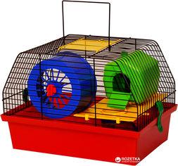 Клетка для грызунов Лорі Вилла Люкс 1 22.7 х 33.5 х 22.5 см Красная (4823094302432) от Rozetka