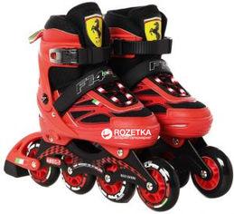Роликовые коньки Ferrari размер 36-39 Красный (6944994940567) от Rozetka