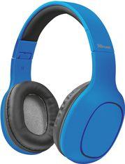 Акция на Наушники Trust Dona Wireless Bluetooth Headphones Blue (22890) от Rozetka