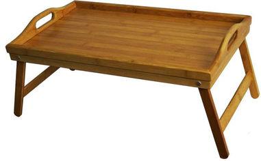 Бамбуковый столик для завтрака Supretto 50х30 см (4713) от Rozetka