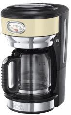 Акция на Капельная кофеварка RUSSELL HOBBS RETRO VINTAGE CREAM (21702-56) от Rozetka