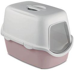 Акция на Туалет для кошек Stefanplast Cathy 56 х 40 х 40 см Нежно-розовый (8003507986442) от Rozetka