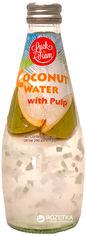 Упаковка напитка сокосодержащего Luck Siam Кокосовая вода с кусочками мякоти 0.29 л х 24 бутылки (8809323920451_1) от Rozetka