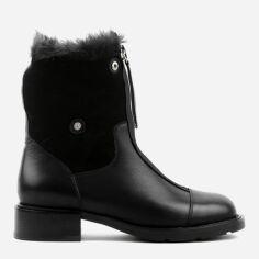 Акция на Ботинки Le'BERDES 10787 38 Черные от Rozetka