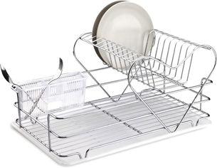 Сушка для посуды Tekno-tel KB 011 комбинированная Хром (40420211) от Rozetka