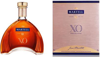 Акция на Коньяк Martell XO 0.7 л 40% в подарочной упаковке (3219820003703) от Rozetka