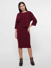 Костюм Fashion Up Katarina KS-1807A 46 Марсала (FU2100000234622) от Rozetka