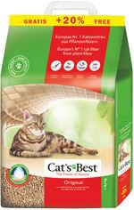 Наполнитель для кошачьего туалета Cats Best Original Древесный комкующий 5.2 кг (10+2 л)(4002973191163) от Rozetka