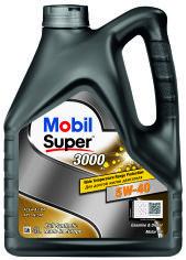 Моторное масло Mobil Super 3000 x1 5W-40 4 л от Rozetka