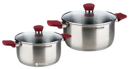 Акция на Набор посуды Rondell Strike RDS-816 из 4 предметов от Rozetka